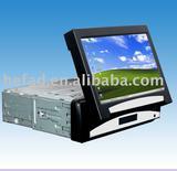 7 Inch 1 Din In Dash Car pc lcd vga touchscreen monitor