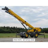 rough terrain crane,mobile crane  QRY 75  payload  75 ton crane