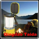 Portable rechargeable base camp lamps