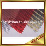crystal hollow polycarbonate sheet