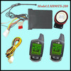 Beret Two Way Motorcycle Alarm System With 5000 Meters Super Long Range Monitoring
