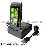 for HTC Mozart power and data sync Cradle Docking Station