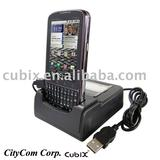 for Motorola Droid Pro power and data sync Cradle Docking Station