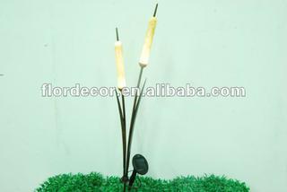 Solar Garden Light Cattail Bulrush