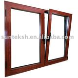 aluminium Tilt & Turn Window with Thermal Break