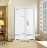 steel-fibre security white door