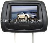 7 inch headrest monitor with USB,SD function