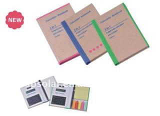 Note pad calculator-ST4051-8digits calculator Promotional product