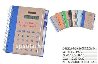8digits calculator-ST3043-Notedbook calculator,promotional product