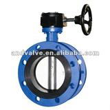Casting Double Flange Butterfly Valve