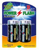 LR20/AM-1/D SIZE Alkaline battery