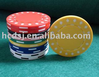 poker chip,diamond style,printing poker chip