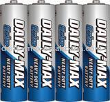 R6P heavy duty carbon zinc battery