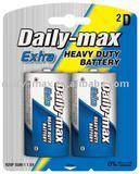 battery R20P-2B (SUM-1/D Size) Carbon Zinc heavy duty dry Battery