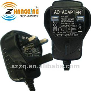 wall type AC DC switch mode 12v 300ma adapter