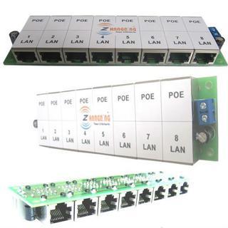 Open frame RJ 45 Power Over Ethernet 24v poe splitter