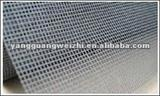 Fiberglass insect screen coated by PVC