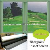 fiberglass insect screen of fire resistance