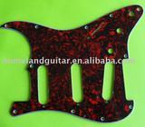 Red Tortoise Shell Guitar Pickguard Loaded Prewired