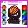 stage lights led moving head light beam/36*10w zoom moving head