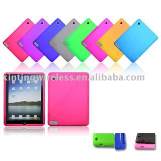 newest silicone gel shell case for ipad 2 gen