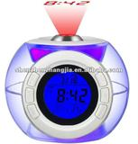 Talking Projection clock with backlight