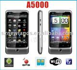 Android 2.2 Mobile Phone T-Start A5000 AGPS TV WIFI JAVA CAMERA 3.5Inch Screen Dual Sim Card Smart Phone