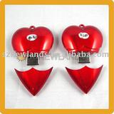 USB Flash Drive USB Drive With Heart Shape For Christmas Gifts