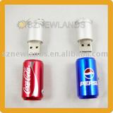 USB Flash Drive USB Disk With Beer Bottle Shape For Christmas Gifts
