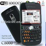 C8000 wifi tv dual sim and dual camera qwerty mobile phone