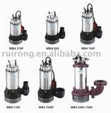 2011 MBA Series Sewage Pump (dirty water pump)