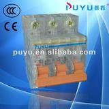 3 phase circuit breaker DZ47 C45