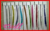 wholesale colorful synthetic hair extension