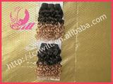 """14"""" Curl Indian Remy Hair Weaving Extensions"""