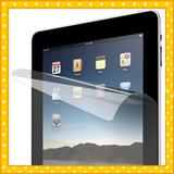Anti-glare LCD screen protector for ipad tablet with a bareface fabric cleaning cloth