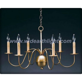 6 arms antique brass chandelier lamp/light (C60032)