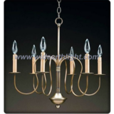 Simple 6 short arms chandelier lamp/light (C60029)