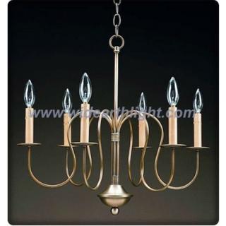 Simple 6 short arms chandelier lamp/light (C60029)