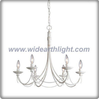 Six-light american iron chandelier lamp/light (C80315)