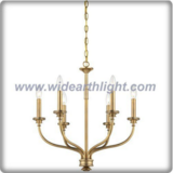 6 lights chandelier in gold plating (C80316)