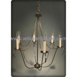 Modern simple bronze painted chandelier (C60024)