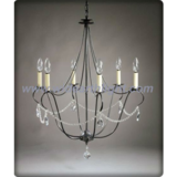Home decoration chandelier with crystal chain&pendants (C60025)
