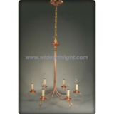 International copper painted chandelier lamp/light (C60035)