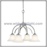 Modern stainless steel droop chandelier lamp (C80390)