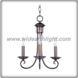 Metal made bronze pendant light small chandelier for restaurant (C80916)