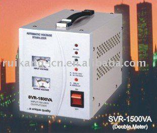 stabilizer (SVR--1500VA, relay type, avr, single phase)