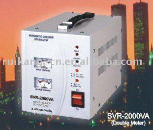Sell stabilizer ( SVR--2000VA, relay transformer, single phase)