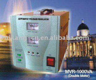 Electric stabilizer MVR-1000VA(relay type, single phase)
