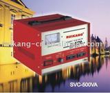 SVC stabilizer (500va, servo motor type, copper coil)
