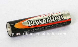 POWERLION SIZE AAA/AM-4/ LR03 AAA Alkaline Battery Mercury free cell